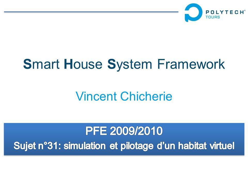 Smart House System Framework Vincent Chicherie