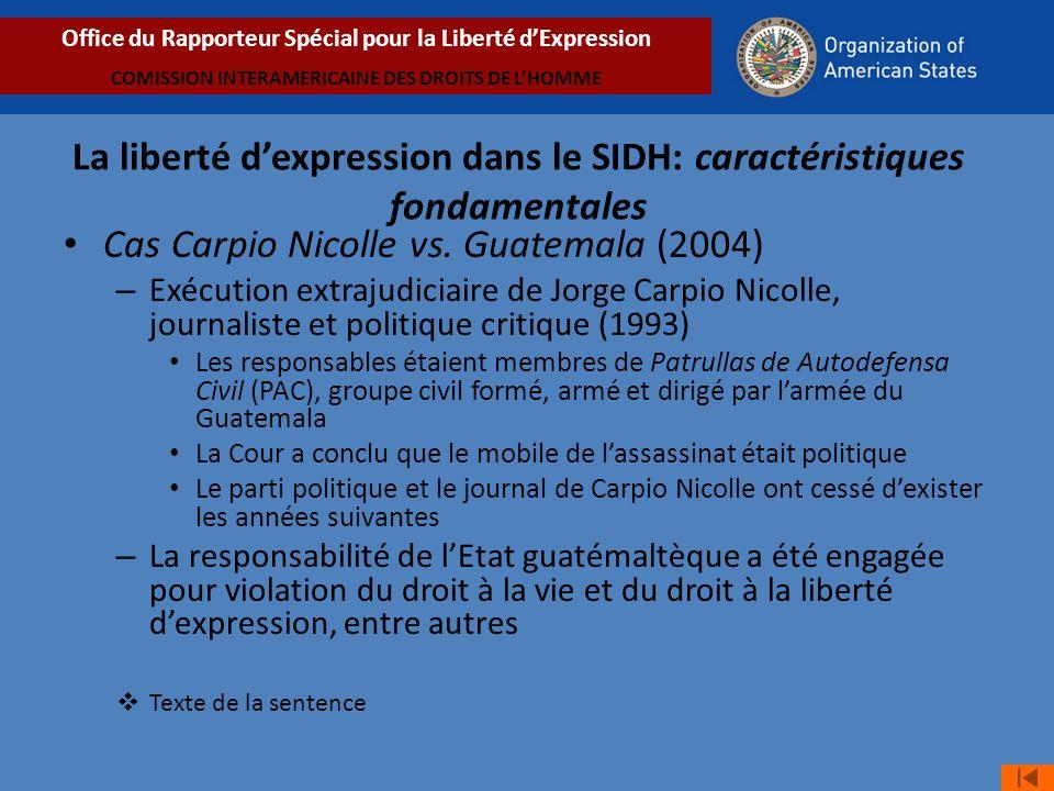 Cas Carpio Nicolle vs.