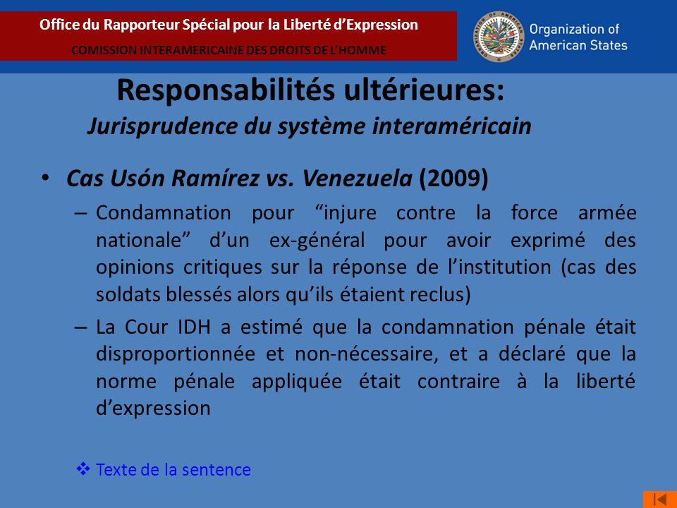 Cas Usón Ramírez vs.