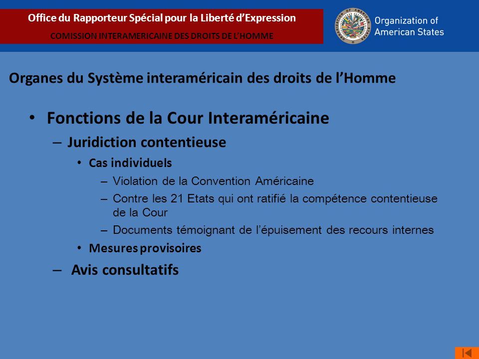 Obligation de respecter Obligation de respect: violence perpétrée par des agents de lEtat – Cas Carpio Nicolle y otros vs.