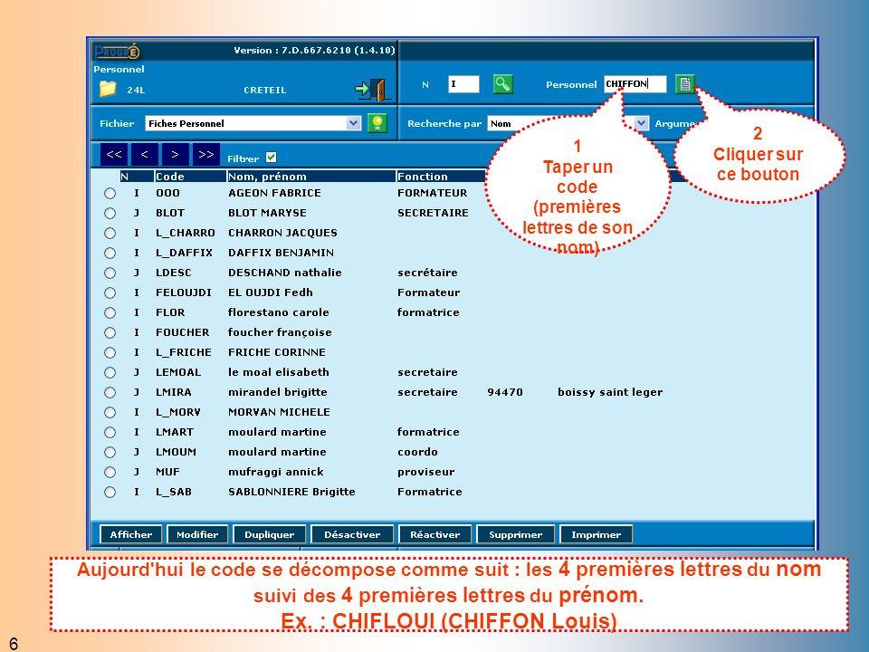 7 1 Compléter la fiche 2 Cliquer sur ce bouton Renseigner le statut et la rubrique budgétaire