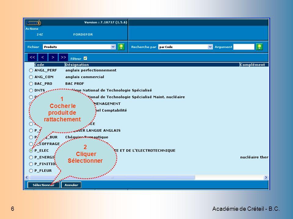 Académie de Créteil - B.C.17 Tout le parcours de laction vient dêtre copié dans le modèle 1 Cliquer sur Fin du mode Copie