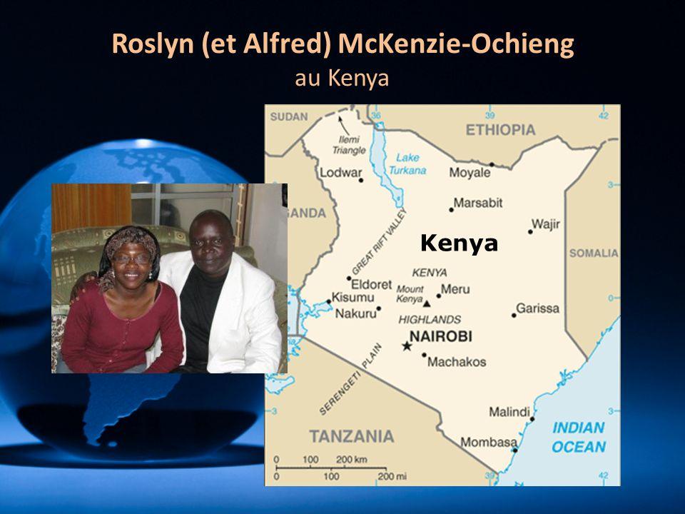 Roslyn (et Alfred) McKenzie-Ochieng au Kenya Kenya