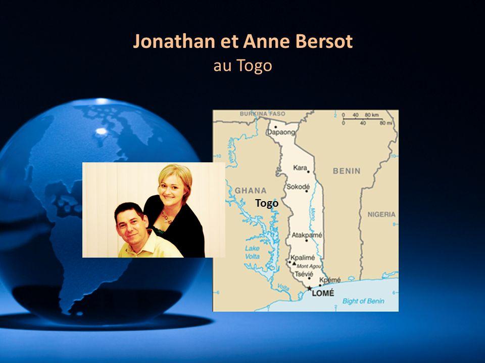 Togo Jonathan et Anne Bersot au Togo