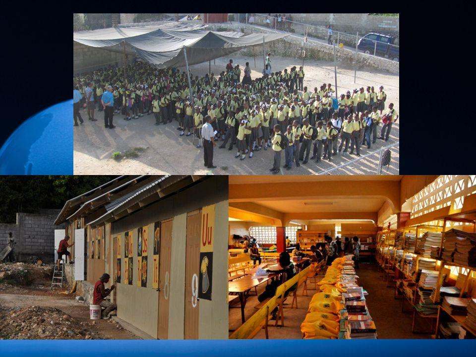 1.Le ministère des enfants : repas, parrainage, école, aide médicale et alimentaire 2.Michel Martelly, président dHaïti, et pour les Haïtiens afin quils se tournent en grand nombre vers Dieu et non seulement vers les églises.