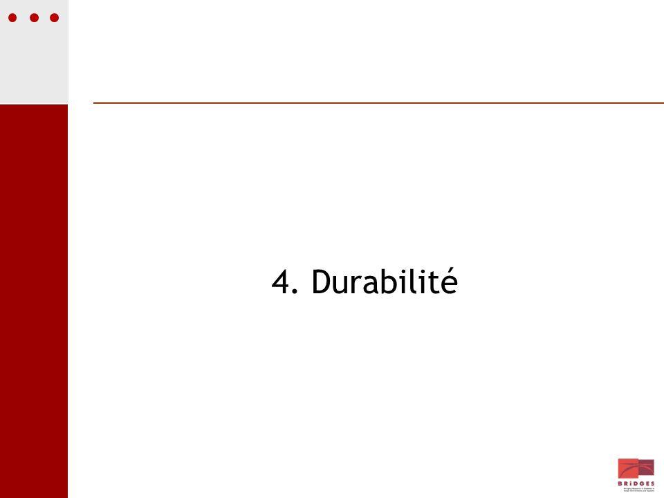 4. Durabilité