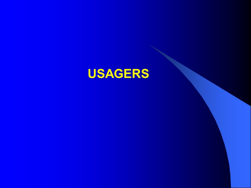 USAGERS