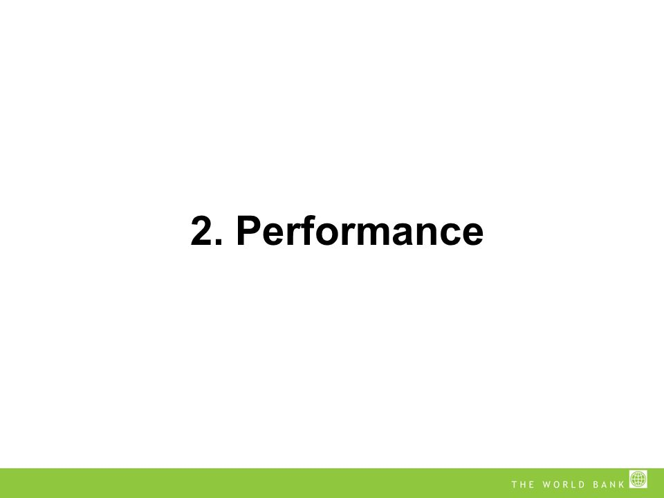 2. Performance