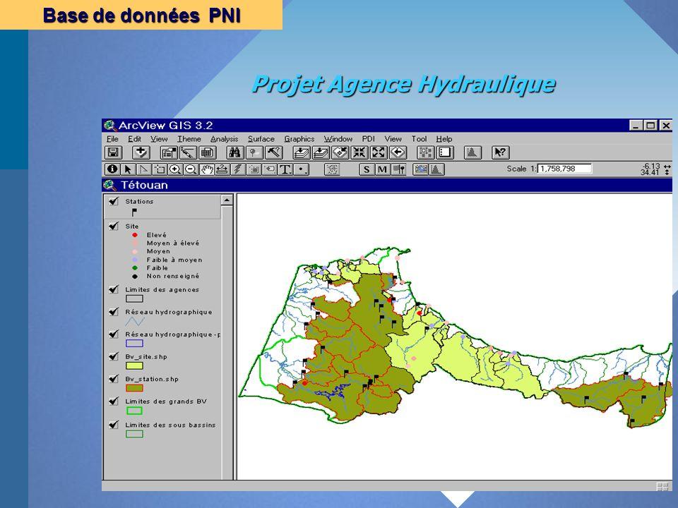 Projet Agence Hydraulique Base de données PNI