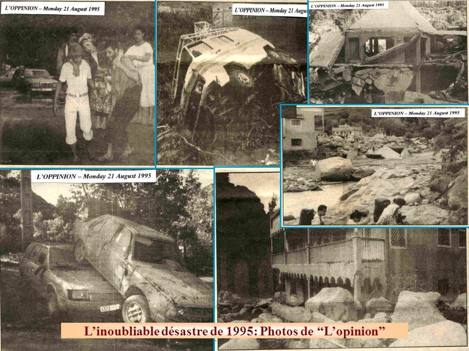 Linoubliable désastre de 1995: Photos de Lopinion