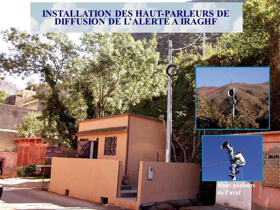 Haut-parleurs de laval INSTALLATION DES HAUT-PARLEURS DE DIFFUSION DE LALERTE A IRAGHF