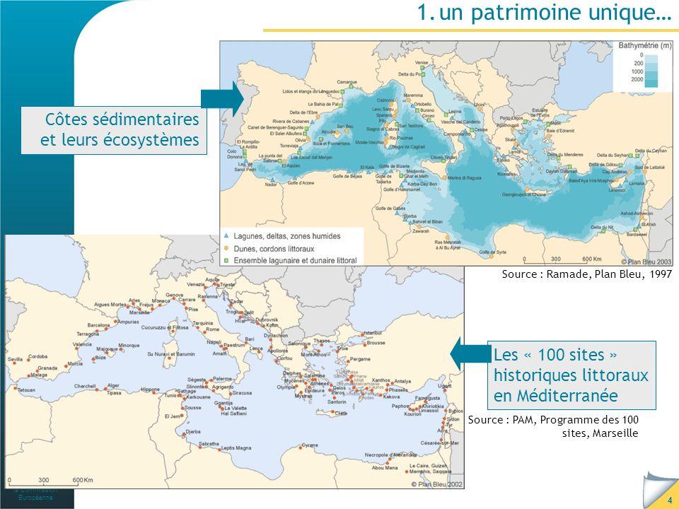 Avec le soutien de la Commission Européenne 5 …haut lieu de la biodiversité terrestre et marine Biodiversité terrestre de léco-région : 10% des espèces végétales sur 1,6% des continents Biodiversité marine : 7% des espèces connues sur 0,8% de la superficie des océans Zones à haut niveau dendémisme