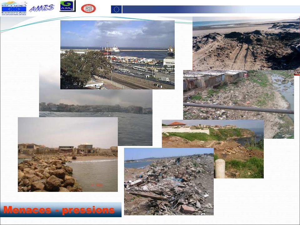 Déchets de gravats à même le rivage (bateau cassé, baie dAlger) Présentation de la wilaya dAlger Pollution par les eaux domestiques non traitées, Poll