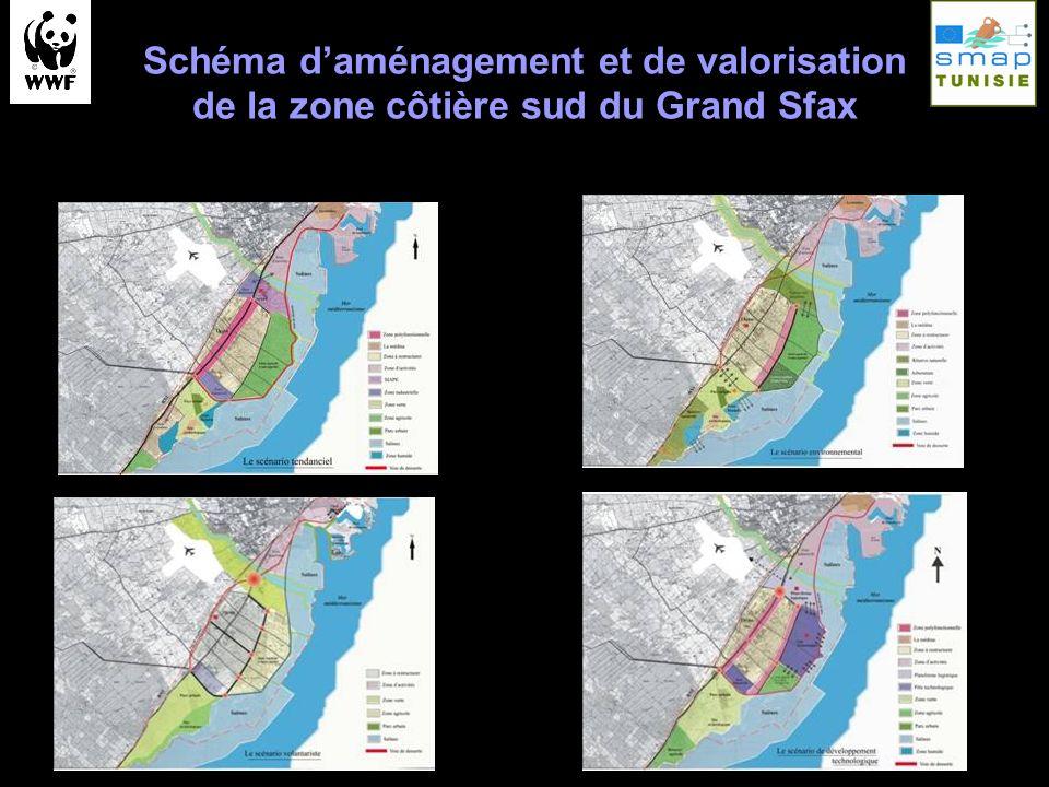 Schéma daménagement et de valorisation de la zone côtière sud du Grand Sfax