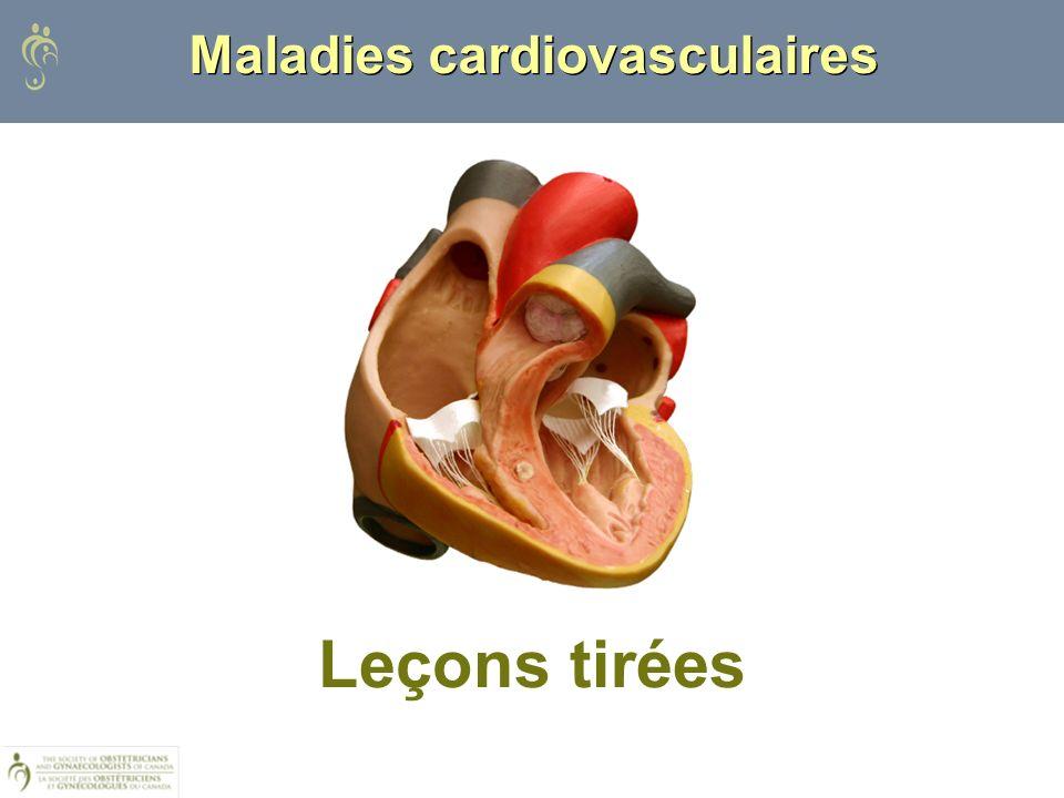 Maladies cardiovasculaires Leçons tirées
