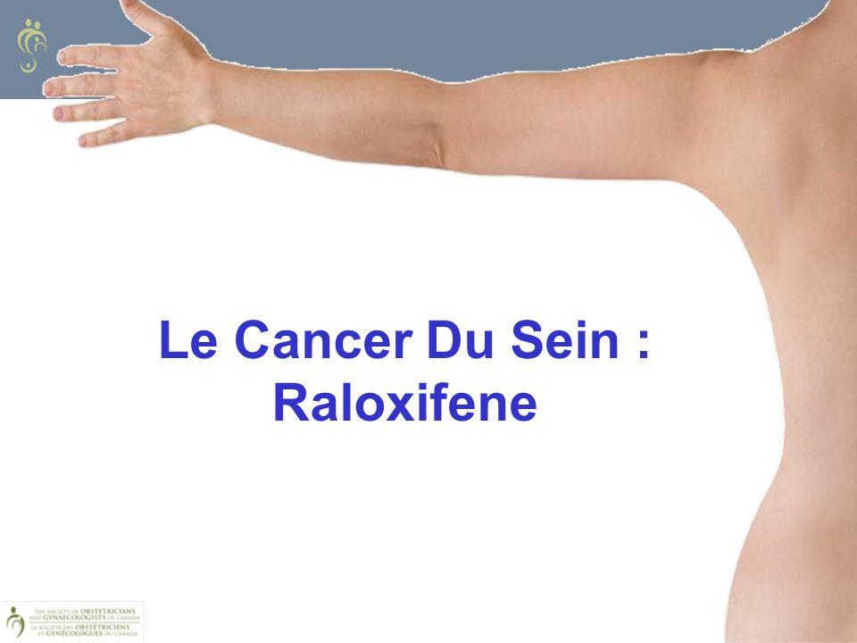 Le Cancer Du Sein : Raloxifene