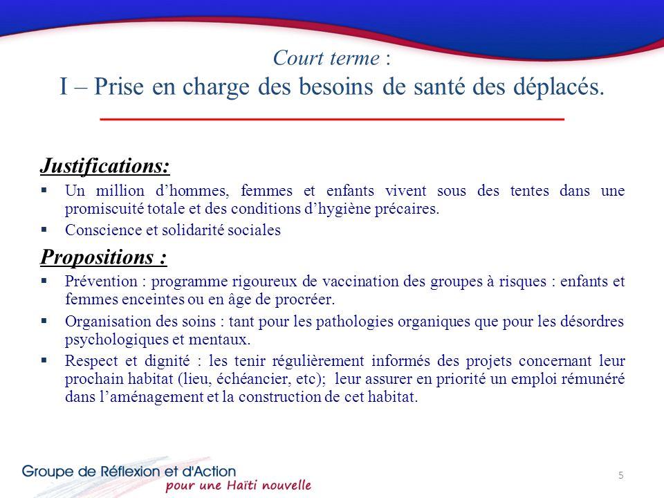 État des Lieux Depuis 1996, le système de santé haïtien est organisé selon une pyramide à 3 niveaux: Niveau primaire: les unités communales de santé (UCS) Niveau secondaire: hôpitaux départementaux, cabinets médicaux spécialisés Niveau tertiaire: hôpitaux universitaires et spécialisés.