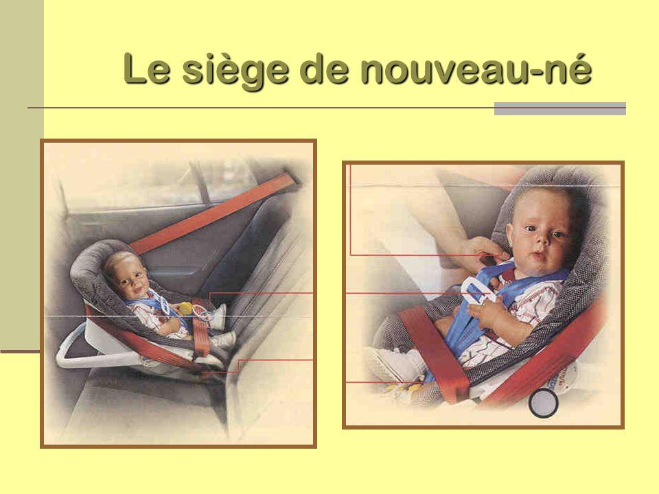 Le siège d enfant