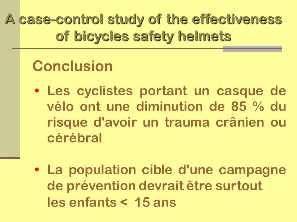 Counseling médical Les casques de vélo donnent une protection indispensable Les parents et les enfants doivent connaître et respecter le code de la sécurité routière en vélo