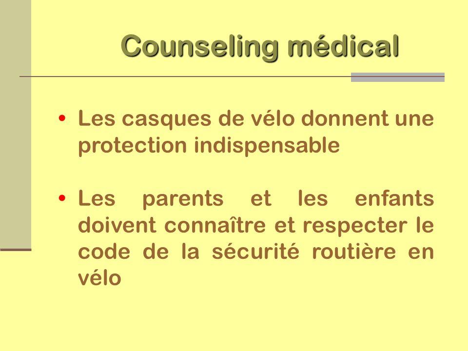 Si on considère les traumatismes (accidents) comme une maladie, la PRÉVENTION en est le VACCIN.