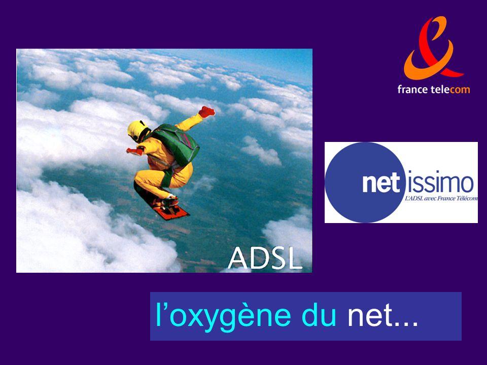 loxygène du net...