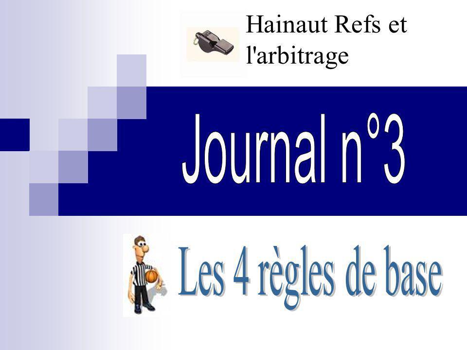 Hainaut Refs et l'arbitrage