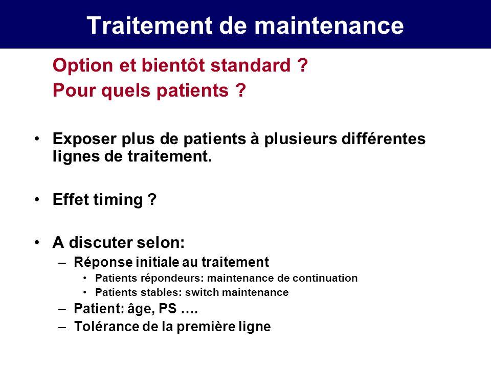 CPC: cisplatine ou carboplatine .Rossi et al., abstr.