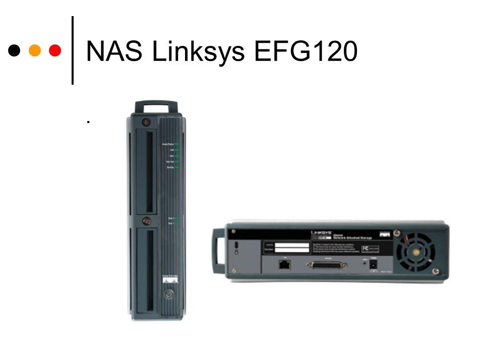 NAS Linksys EFG120.