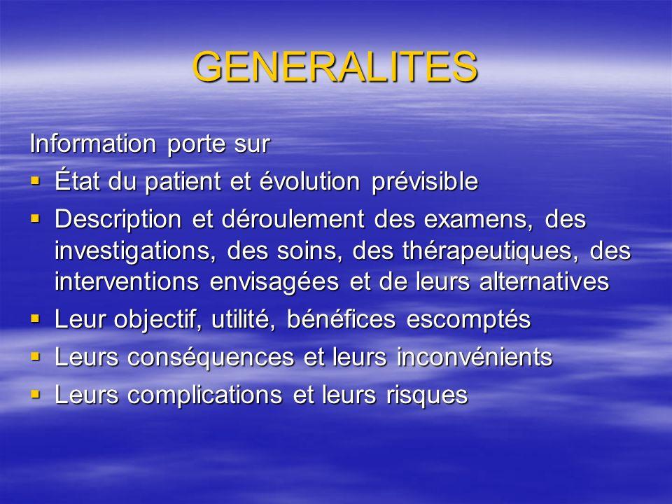 LOI 2002-303 du 4 mars 2002 relative aux droits du malade et à la qualité du système de santé fait de lINFORMATION et du CONSENTEMENT du patient aux soins les principes fondamentaux dune démocratie sanitaire