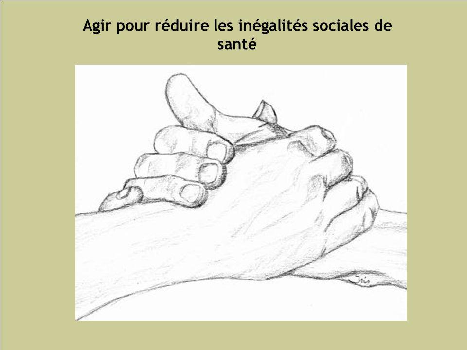 Les inégalités sociales de santé 117 Agir pour réduire les inégalités sociales de santé