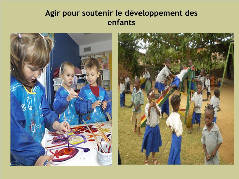 Les inégalités sociales de santé 135 Agir pour soutenir le développement des enfants