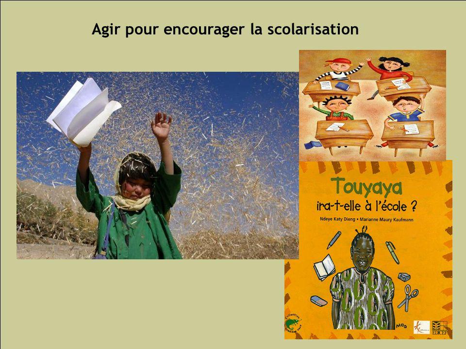 Les inégalités sociales de santé 140 Agir pour encourager la scolarisation