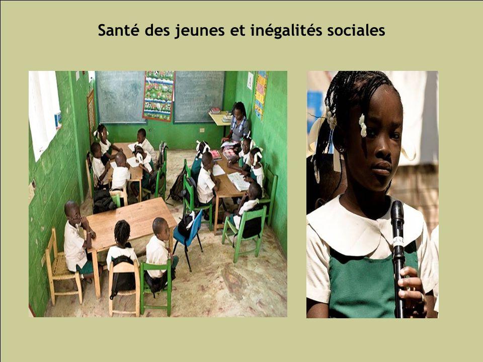 Les inégalités sociales de santé 69 Santé des jeunes et inégalités sociales