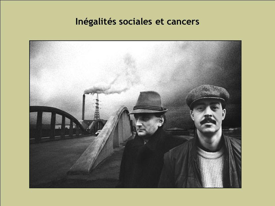 Les inégalités sociales de santé 76 Inégalités sociales et cancers