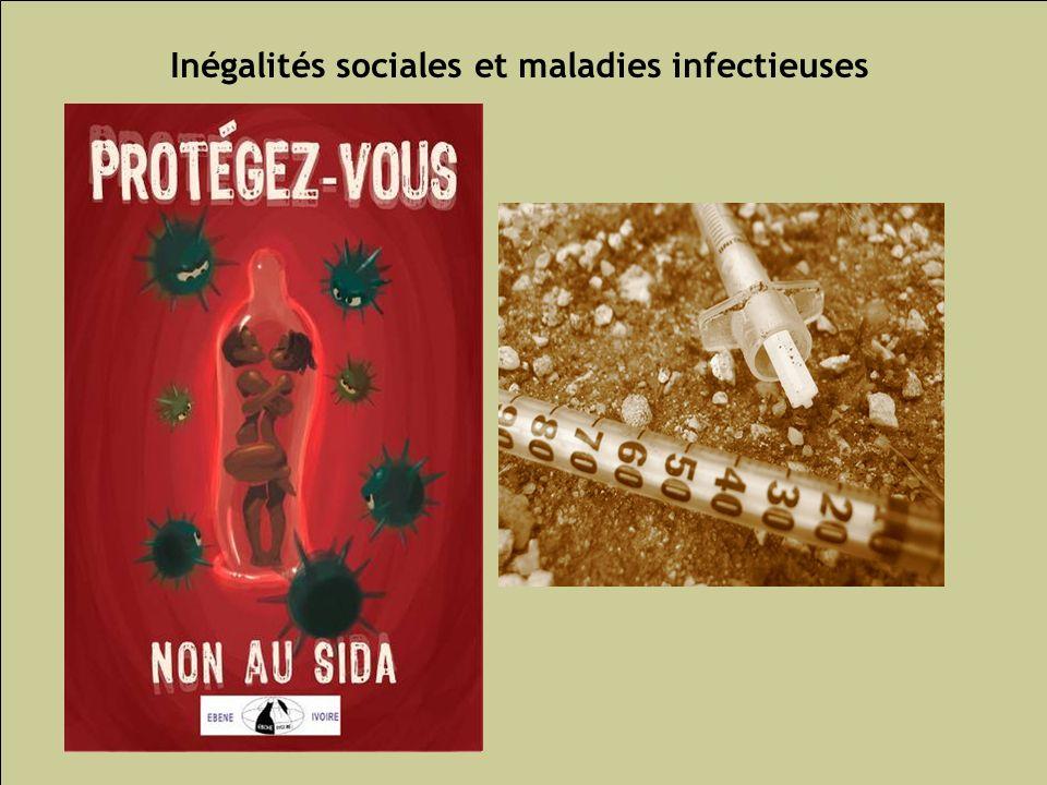 Les inégalités sociales de santé 81 Inégalités sociales et maladies infectieuses