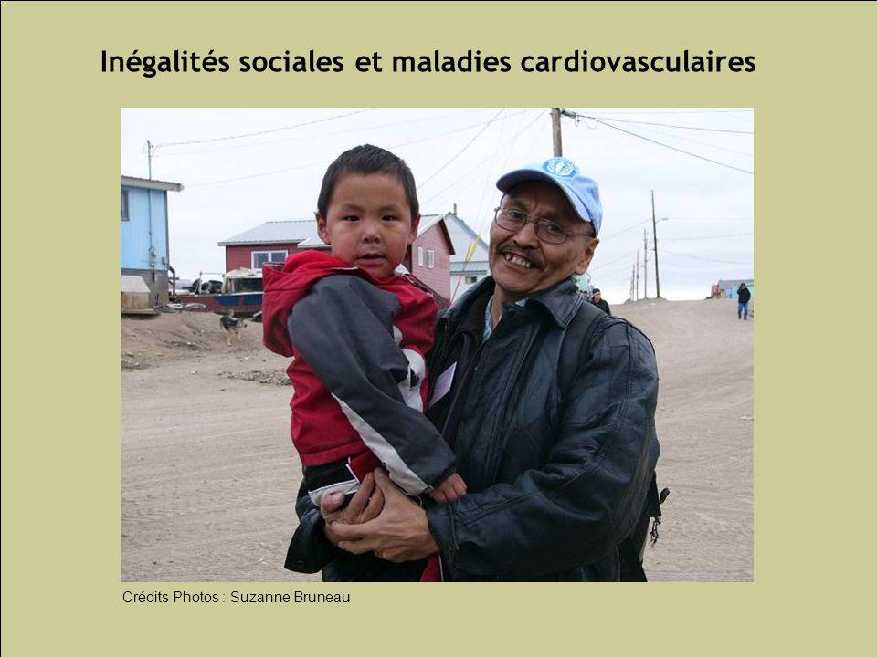 Les inégalités sociales de santé 90 Inégalités sociales et maladies cardiovasculaires Crédits Photos : Suzanne Bruneau
