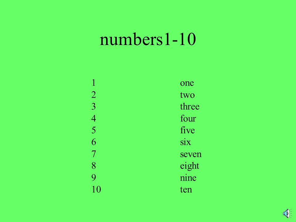 numbers1-10 1one 2two 3three 4four 5five 6six 7seven 8eight 9nine 10ten