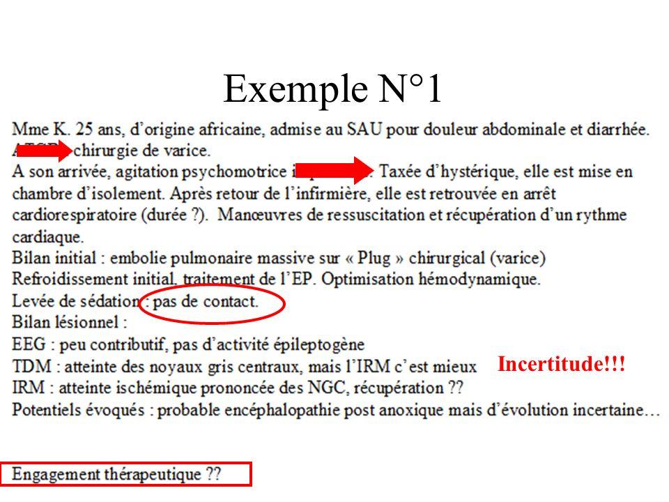 Exemple N°1 Incertitude!!!