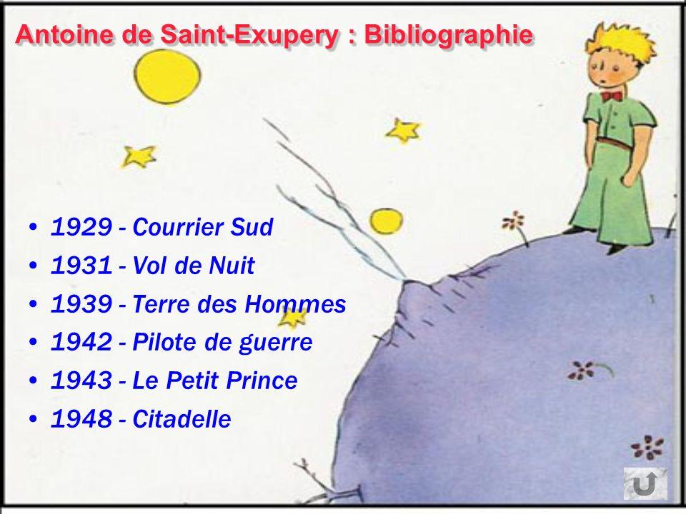 Antoine de Saint-Exupery Biographie Antoine de Saint-Exupery est né à Lyon le 29 juin 1900 Il est pilote dans larmée de lair, puis travaille pour lAér