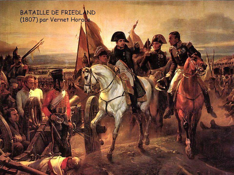 Napoléon à la bataille dAusterlitz 1805. François Gérard. LE SOIR D'IENA (1806) Jean-Baptiste-Edouard Napoléon à la bataille d'Eylau1807 GROS Antoine-