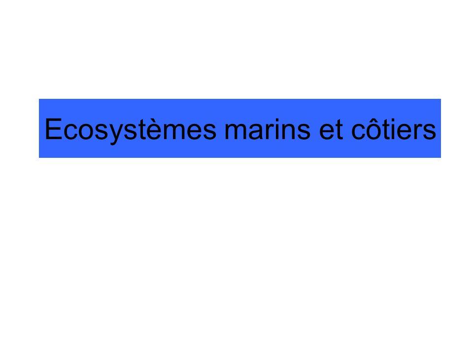 Ecosystèmes marins et côtiers