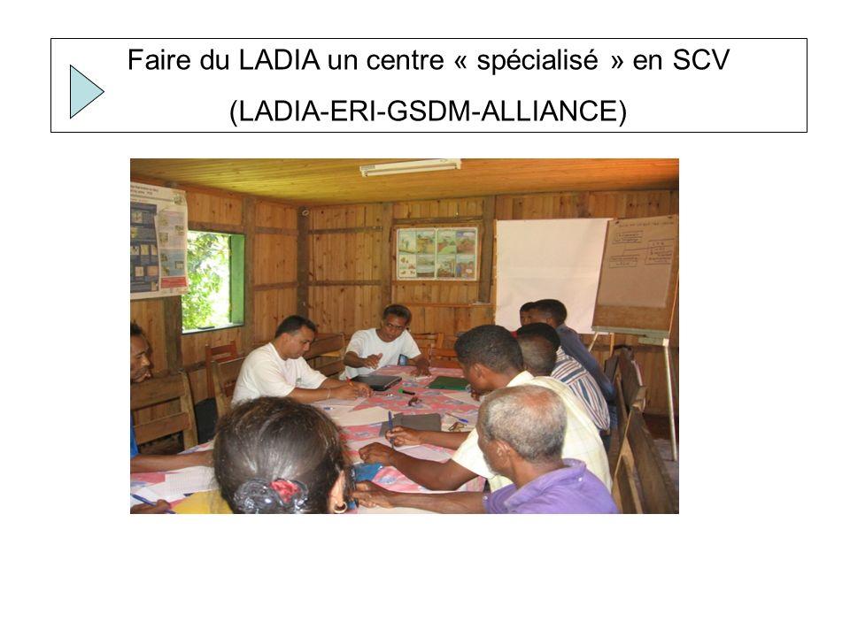Promouvoir et Appuyer la diffusion du SCV: dimension socio- spatiale élargie (KH-PV-ERI-ALLIANCE)