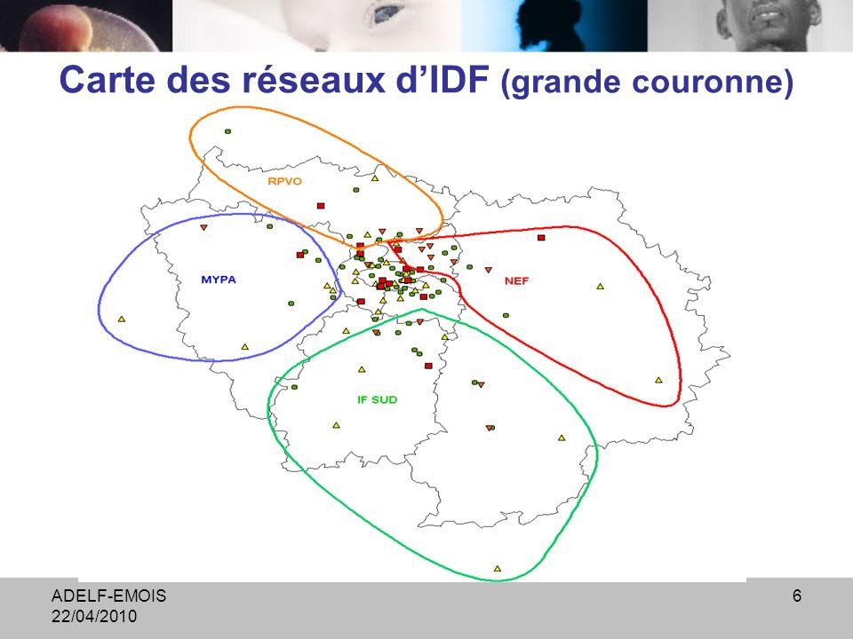 ADELF-EMOIS 22/04/2010 7 Arhif, prise en charge HPP B. Bertrand, CRAMIF
