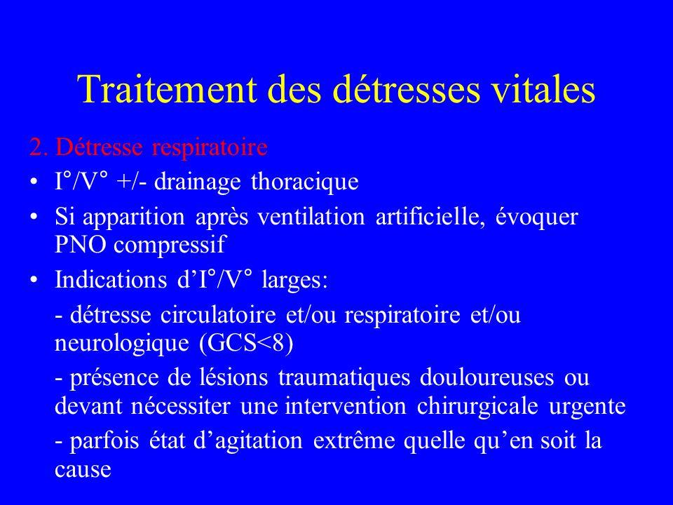 Traitement des détresses vitales 2.