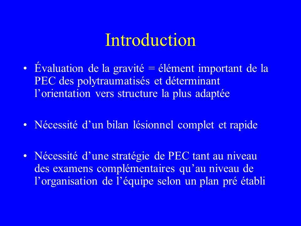 Traitement des détresses vitales Traitement intégré au bilan initial (ABCD) 1.