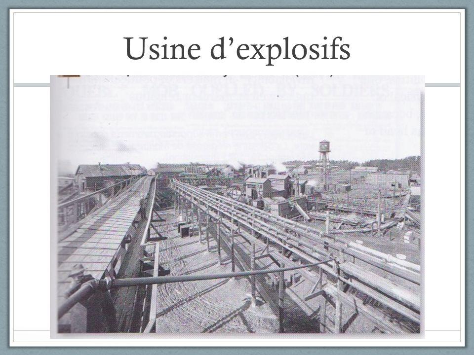 Usine dexplosifs