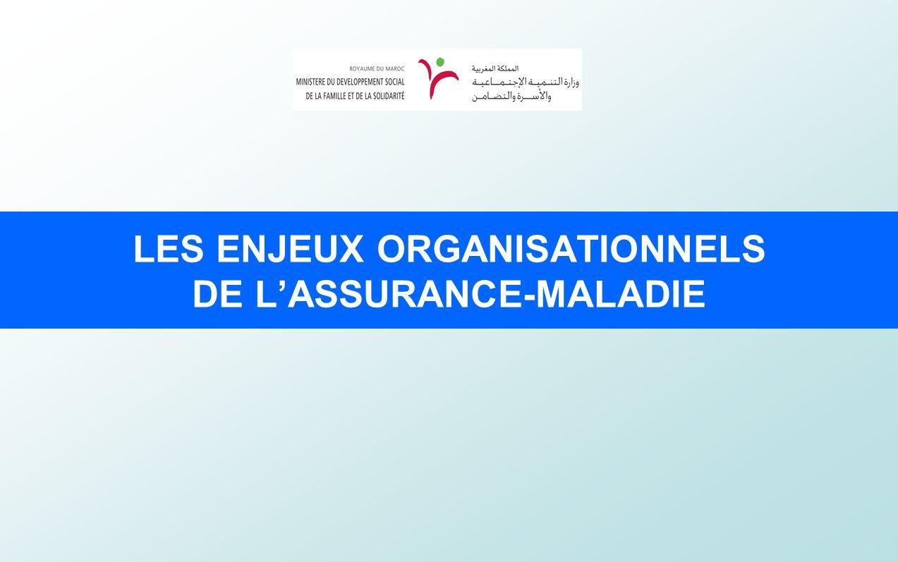 LES ENJEUX ORGANISATIONNELS DE LASSURANCE-MALADIE