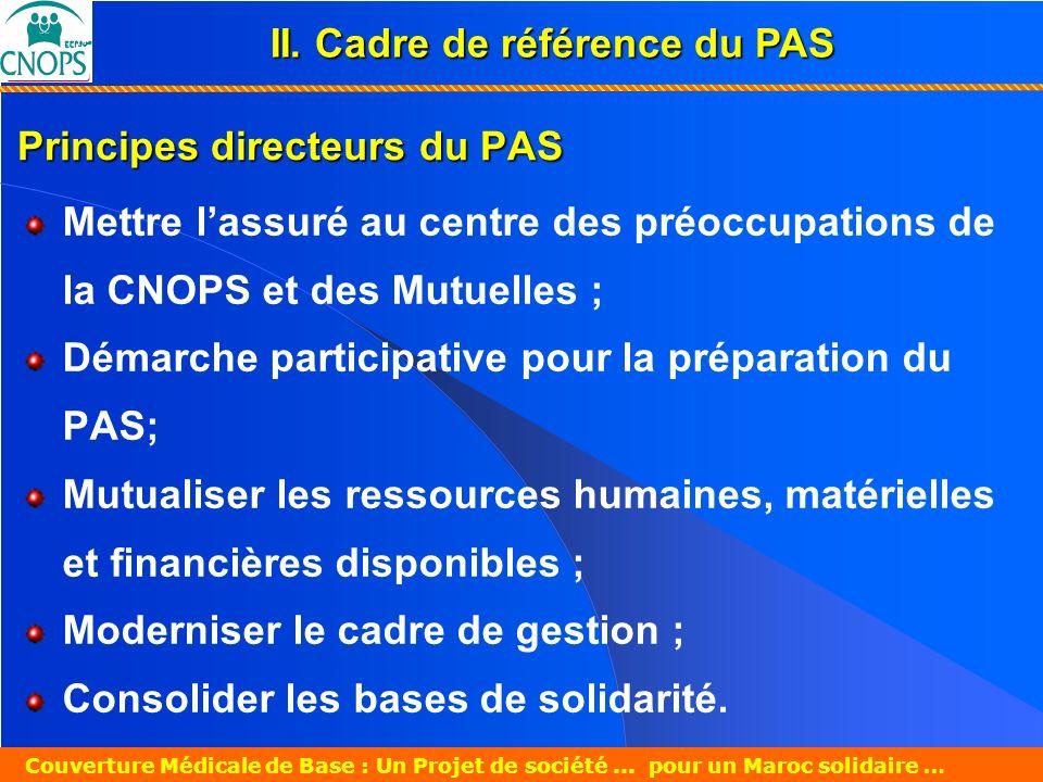 Un Projet de société pour un Maroc solidaire 26 mars 2007 Couverture Médicale de Base : Un Projet de société... pour un Maroc solidaire … Principes di