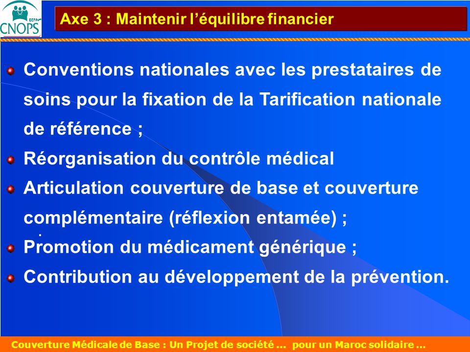 Un Projet de société pour un Maroc solidaire 26 mars 2007 Couverture Médicale de Base : Un Projet de société... pour un Maroc solidaire … Conventions