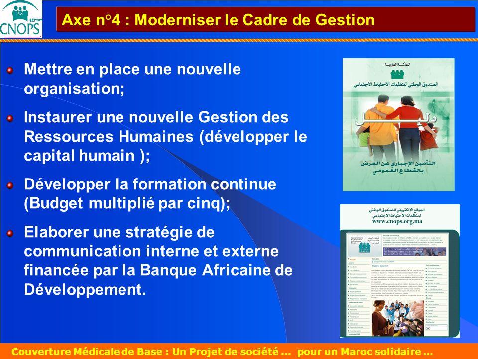 Un Projet de société pour un Maroc solidaire 26 mars 2007 Couverture Médicale de Base : Un Projet de société... pour un Maroc solidaire … Mettre en pl